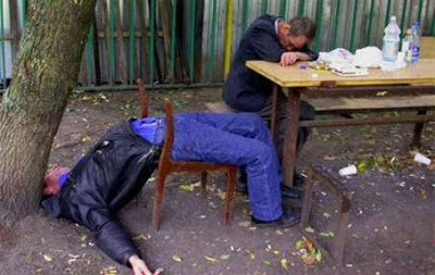 Down and Out in Russia