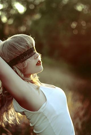 Teen blind folded virgin