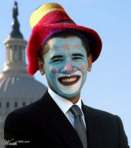 Clown Prince of USA The Never-Vetted Presidential Weakling Approaches End of Terms