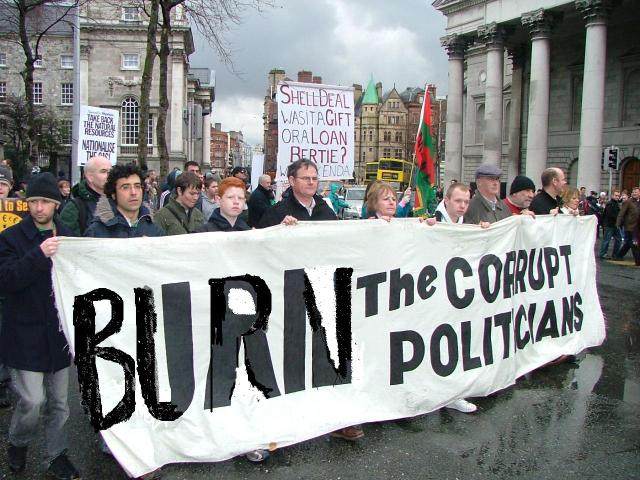 Burn Corrupt Politicians and Their Enablers