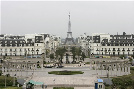 Paris, China http://www.messynessychic.com/2012/11/20/made-in-china-european-clone-towns/