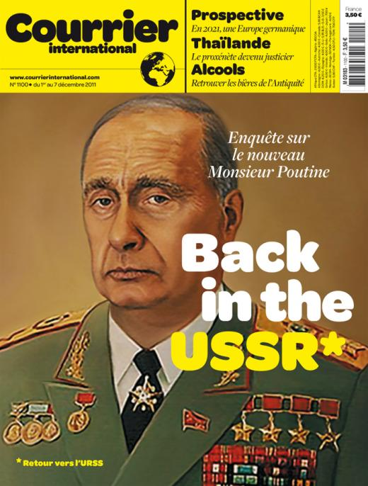 Back in the USSR Courier ... Putin as Dictator for Life