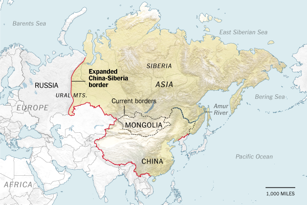 Will Russia Fade Quickly ... Or Slowly? Image: New York Times www.nytimes.com/roomfordebate/2015/01/14/the-most-debated-room-for-debates/why-china-will-reclaim-siberia-21