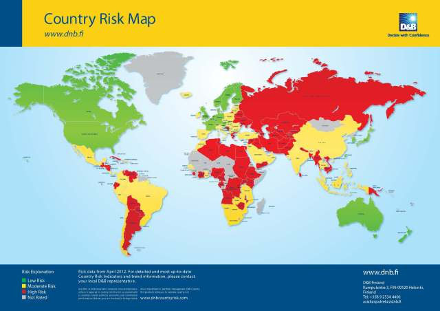 World Risk Map