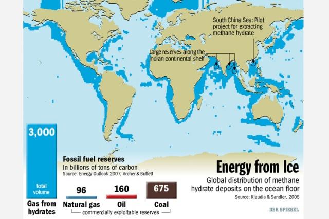 Abundant Methane Clathrates
