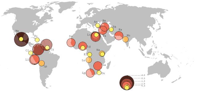 Growing Slums https://en.wikipedia.org/wiki/Slum