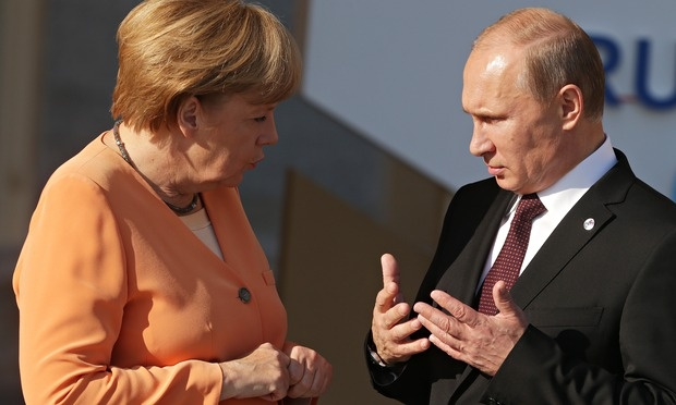 Russian Soldiers?  What Russian Soldiers? http://www.theguardian.com/commentisfree/2014/dec/22/angela-merkel-russian-europe-russia-german