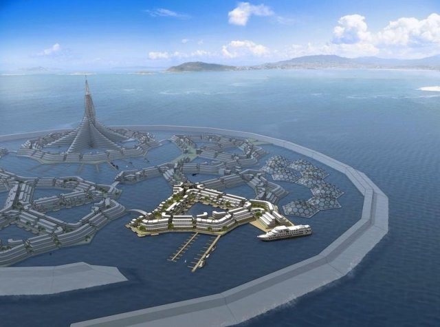 Deltasync Floating City 134 pp PDF Report for Seasteading Institute