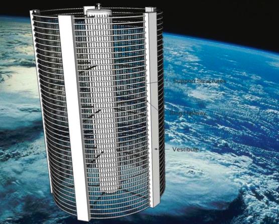 Eric Yam Space Colony Design Contest Winner
