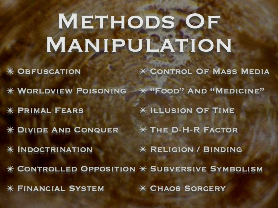 Quotes About Manipulators: Distinctions That Make A Difference