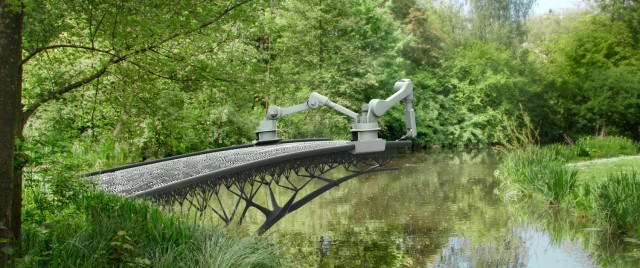 Bridge-Building Into the Future http://mx3d.com/news/mx3d-to-3d-print-steel-bridge/