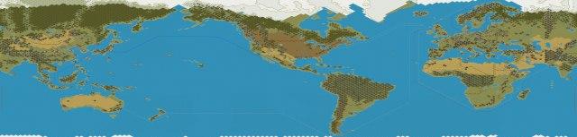 World Strategy Map Battlefront Map