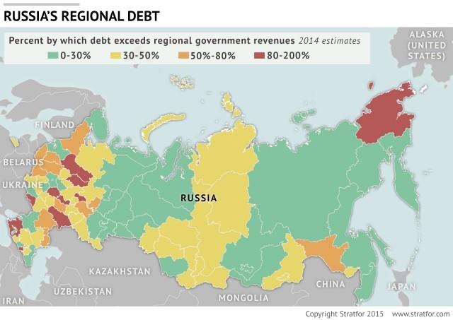 Russia Regional Debt Stratfor