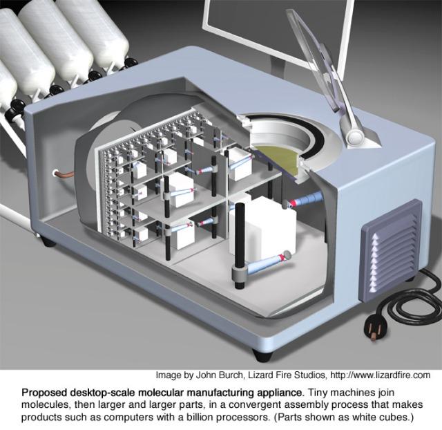 Molecular Assembler http://e-drexler.com/m/04/02/0609factory700x681.jpg
