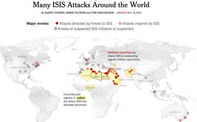 ISIS Global Attacks via NBF