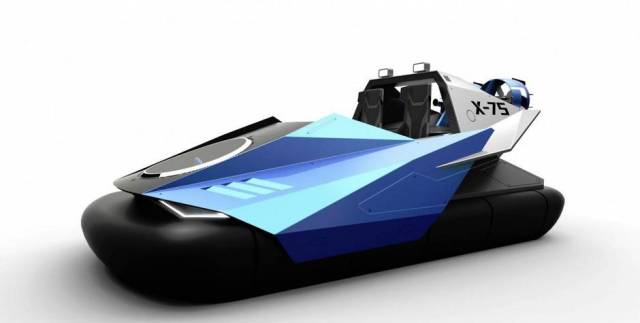 Typhon 2-Seater Personal Hovercraft http://www.theglobeandmail.com/globe-drive/culture/technology/personal-hovercraft-designed-to-be-quieter-and-easier-to-control/article27045930/