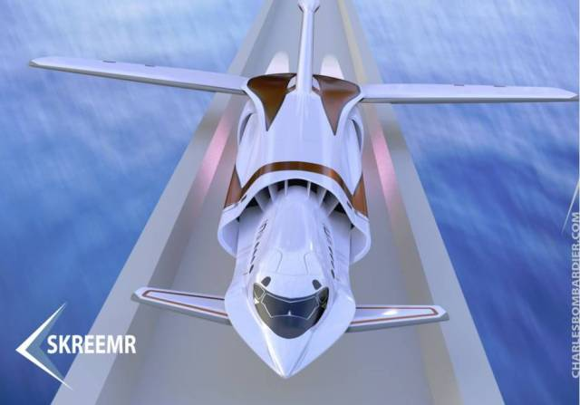 Skreemr Mach 10 http://www.theglobeandmail.com/globe-drive/culture/technology/passenger-plane-concept-could-travel-five-times-the-speed-of-the-concorde/article26950644/