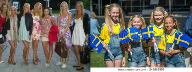 Swedish Females of All Ages At Risk Sweden's Government Indifferent or Actively Hostile to Native Swedes