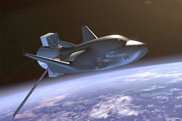 Dream Chaser to Supply Cargo to ISS http://www.space.com/31638-dream-chaser-spaceplane-to-supply-the-space-station.html