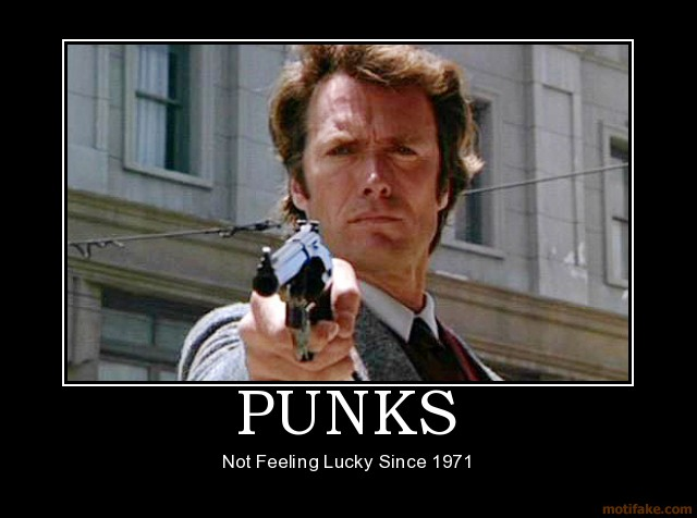 Punks and Ammo Do They Feel Lucky?