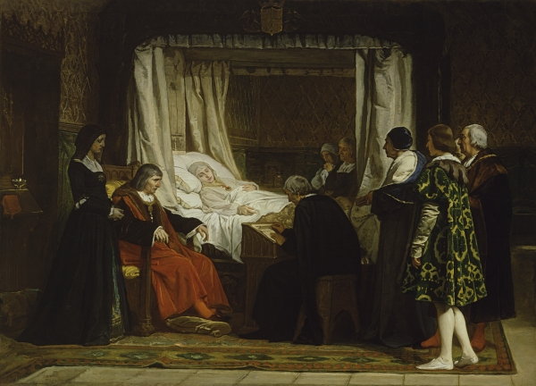 Death of a Queen http://nobility.org/2012/10/18/isabella-the-catholic-majestic-and-saintly-even-in-death/