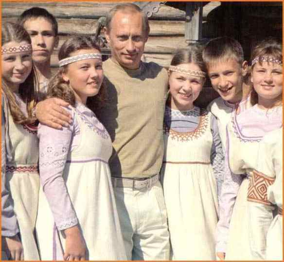 All Putin's Happy Children Putin and the  Children