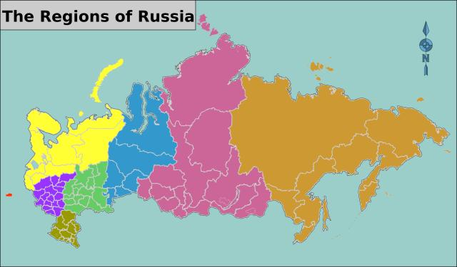 Russian Macro-Regions Wikipedia