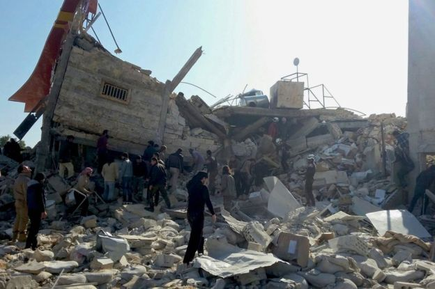 Deliberate Destruction of Hospitals in Syria http://www.bbc.com/news/world-middle-east-35717532