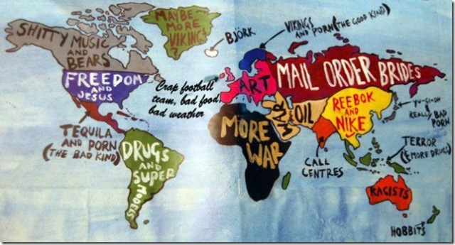 Official World Map of 2010 Not PC blog