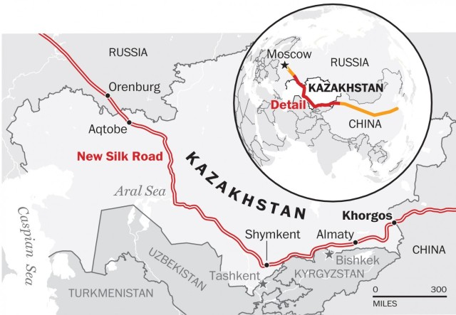 Silk Road Invasion Route