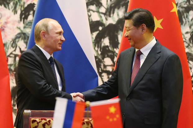 Putin & Xi Photo-op