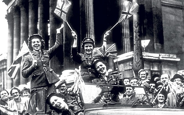 VE Day London 1945