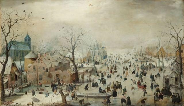 Winterland: Crops Do Not Grow in the Ice Avercamp  via Wikipedia