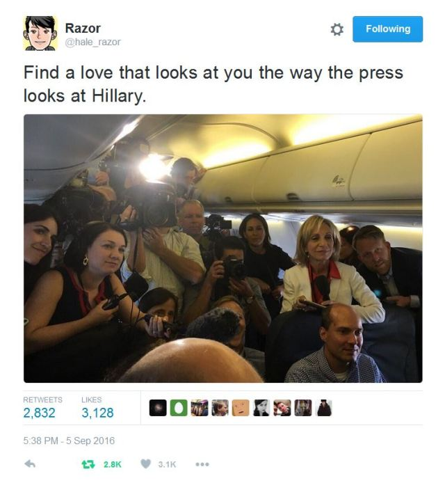 Adoring Faces Look to Clinton