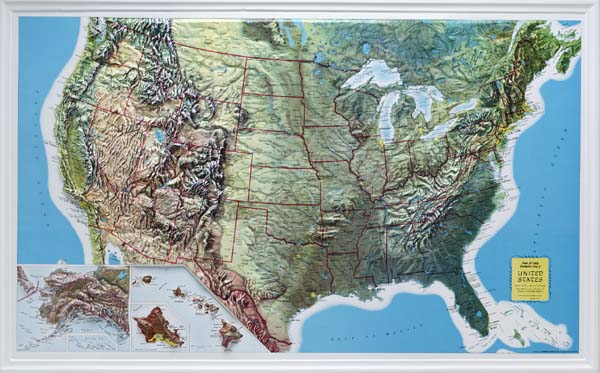 US Relief Map Source