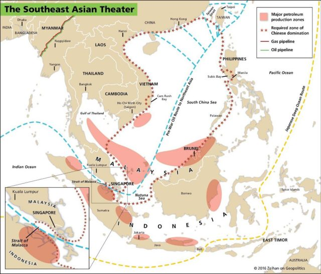 Southeast Asian Theatre of War http://zeihan.com/the-absent-superpower-maps/