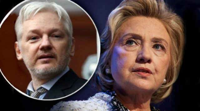Hillary Clinton Wanted to Assassinate Assange Source