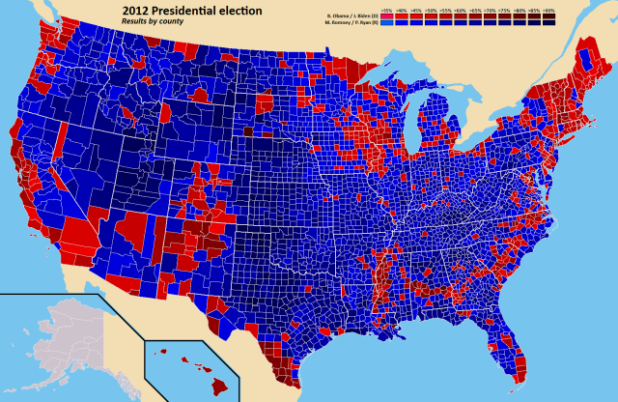 US Murder Map Looking For Visual Correlations Truth Is Justice - Map of the us by iq