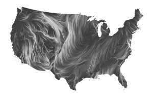 Wind map usa
